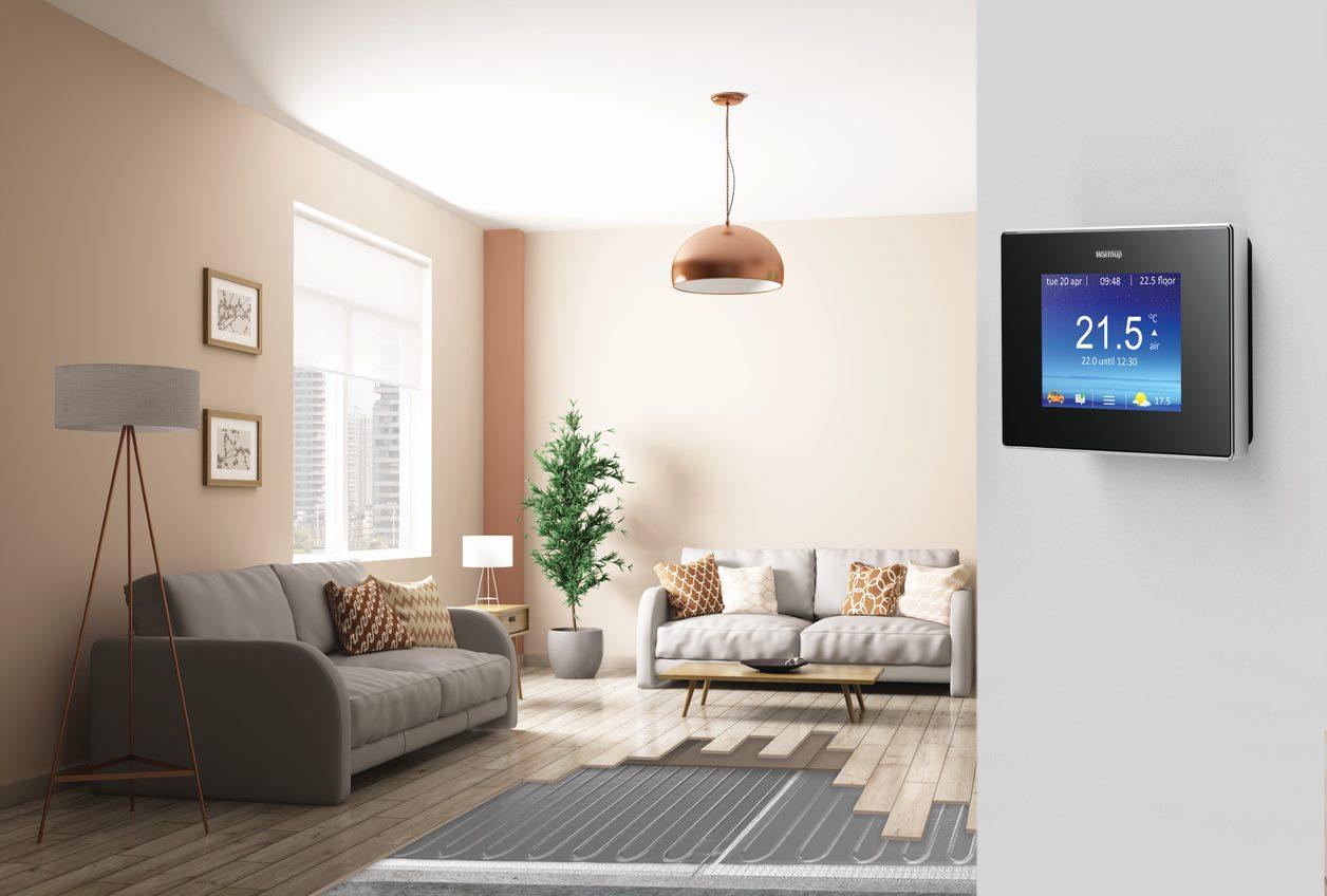 Underfloor Heating in your living area